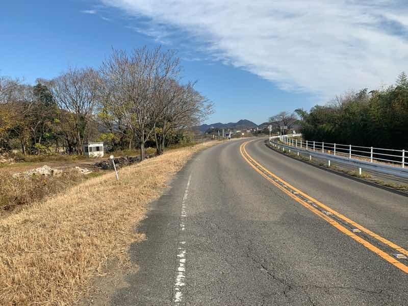 読売犬山ハーフマラソンのコースの様子です。犬山城が近づいてきました。